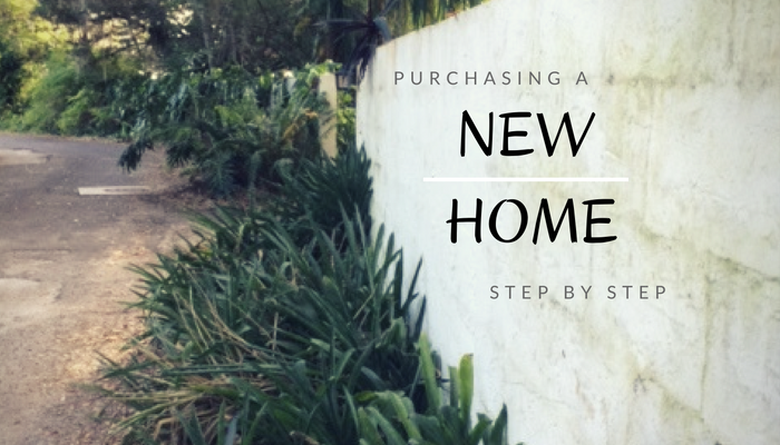Purchasing a New Home Step by Step